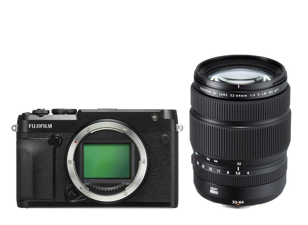 Fujifilm GFX 50R + GF 32-64mm 1:4 R LM WR