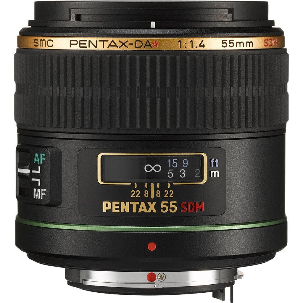 Pentax 55mm 1:1.4 SDM DA