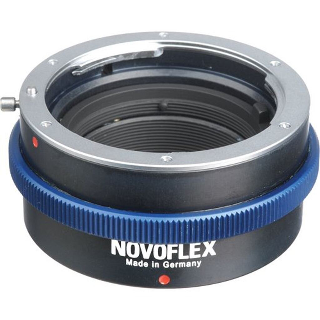 Novoflex Adapter von Panasonic/Olympus MFT auf Nikon Objektiv