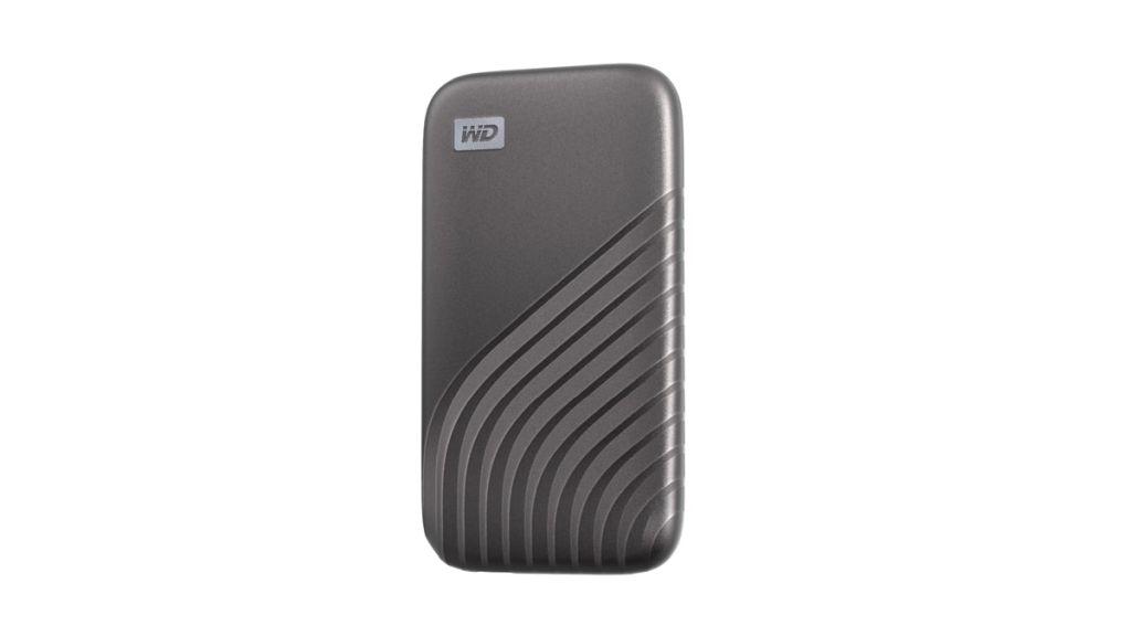Western Digital My Passport 500 GB space gray SSD, mobile HDD