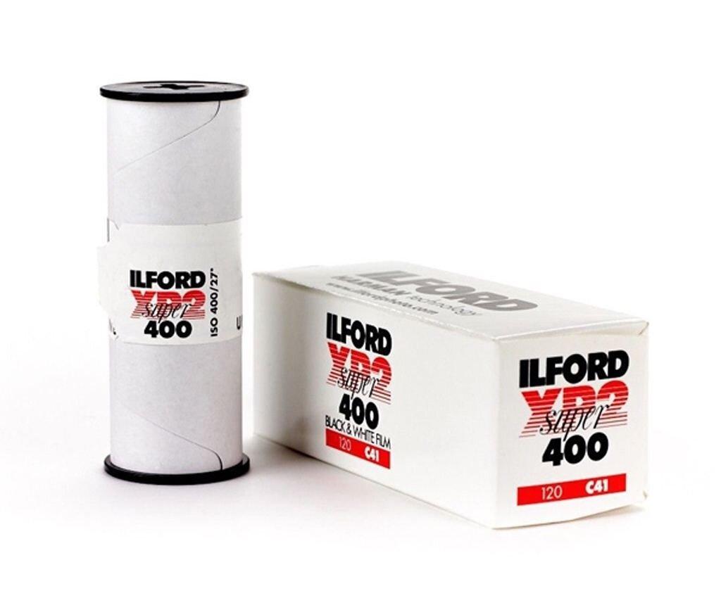 Ilford XP-2 400 Super 120 schwarz/weiß Rollfilm