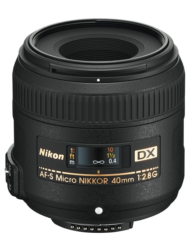 Nikon AF-S DX Micro 40 mm 1:2,8 G ED + Nikon 5-Jahre-Garantie-Aktion