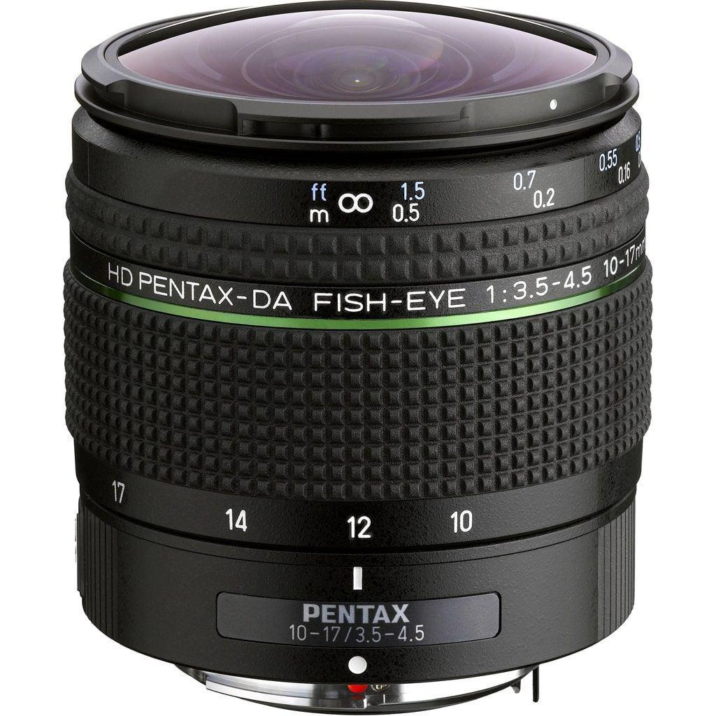 Pentax 10-17mm 1:3,5-4,5 ED Fish-Eye DA HD