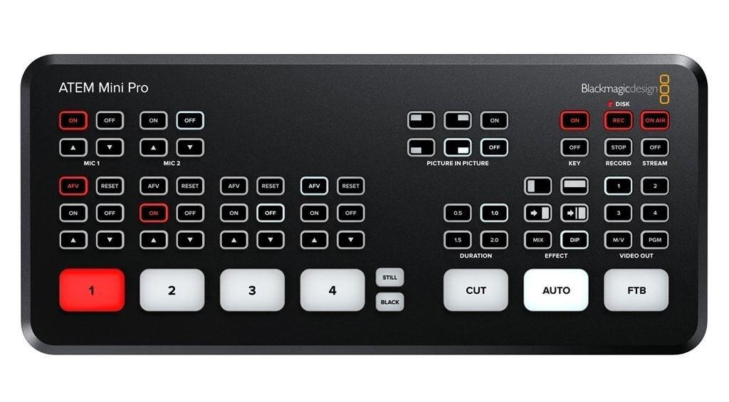 Blackmagic ATEM Mini Pro Videomischer