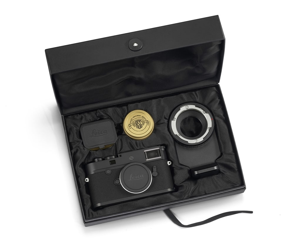 """LEICA M10-P """"ASC 100 Edition"""" inkl. SUMMICRON 1:2/35 ASPH. und M-PL-Mount Adapter, 20031"""