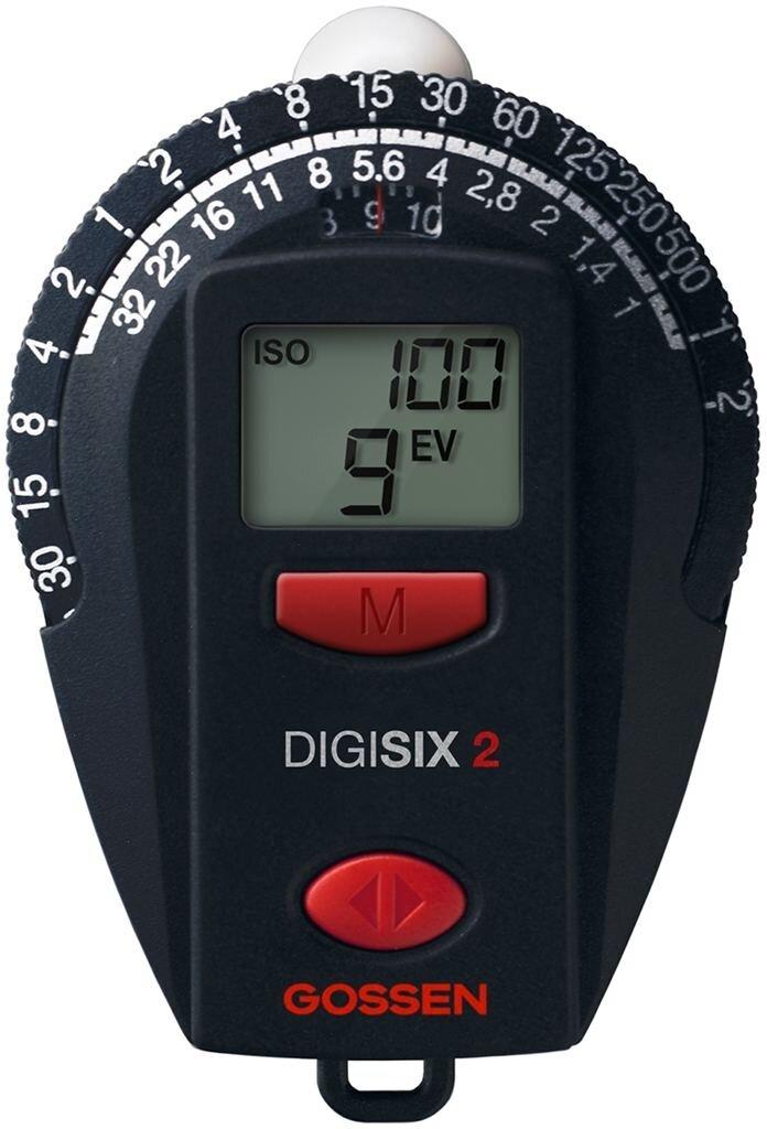 Gossen Digisix 2 Belichtungsmesser für Dauerlicht