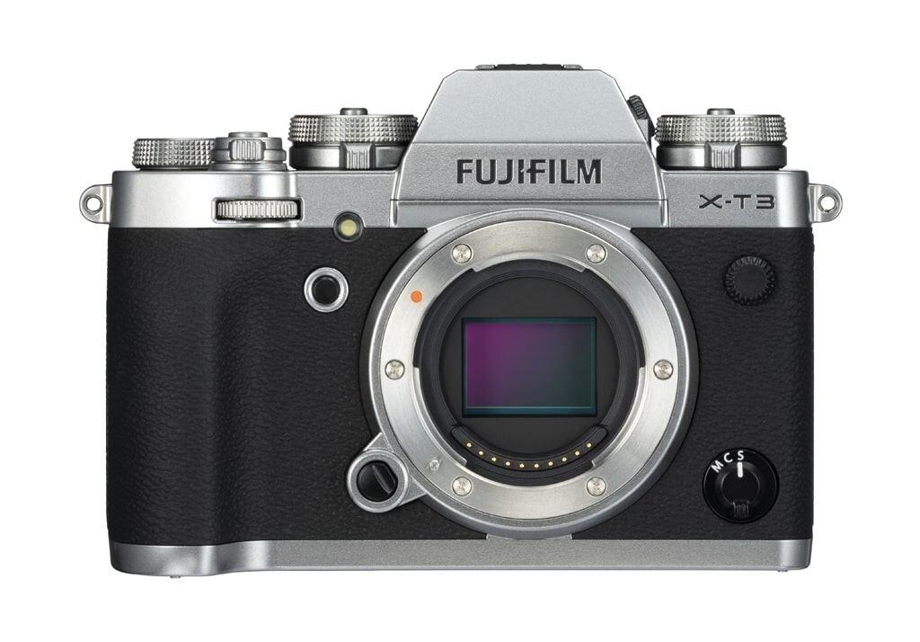 Fujifilm X-T3 silber Gehäuse