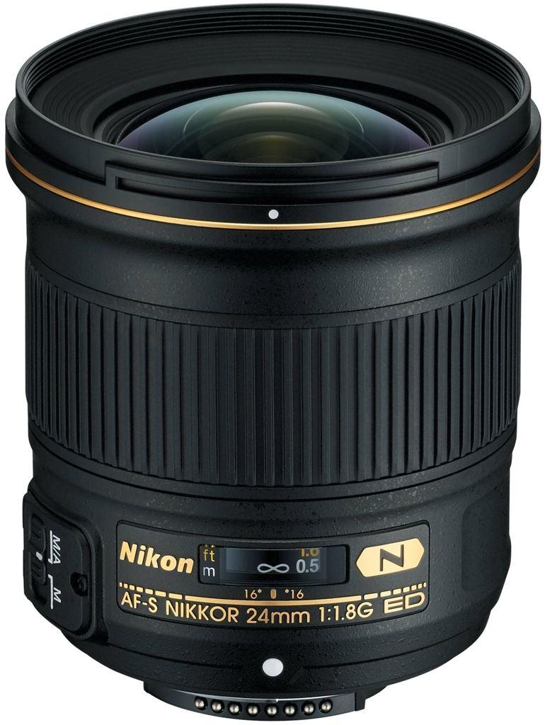 Nikon AF-S 24mm 1:1,8 G ED + Nikon 5-Jahre-Garantie-Aktion