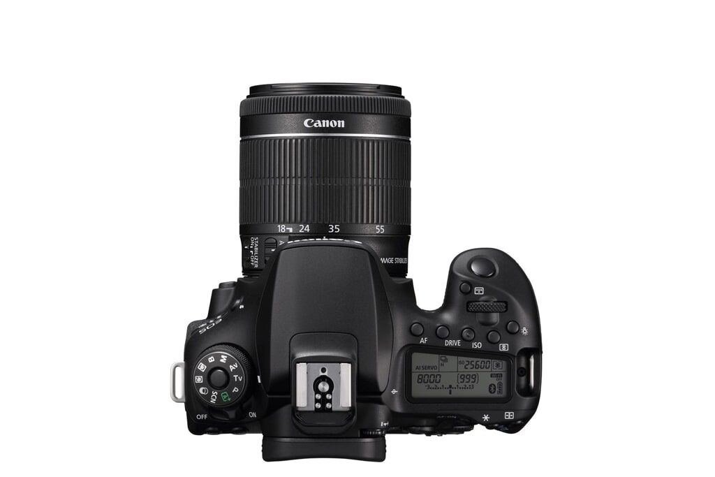 Canon EOS 90D + EF-S 18-55mm 1:3.5-5.6 IS STM