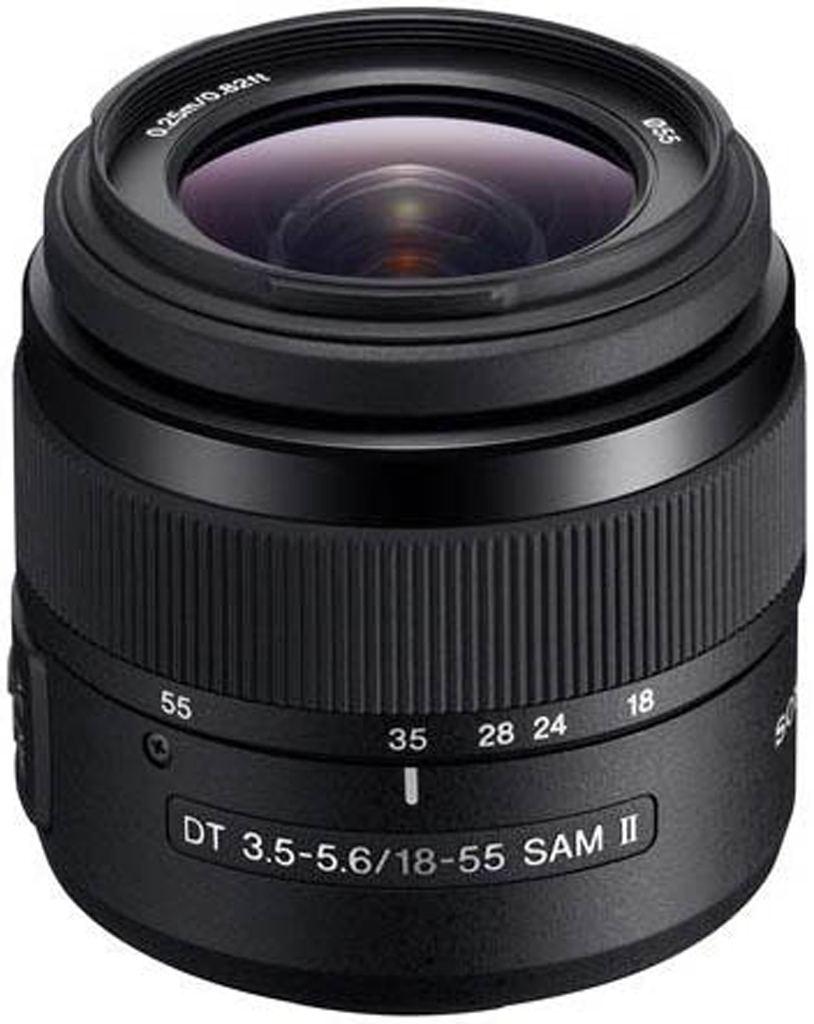 Sony SAL 18-55mm 1:3,5-5,6 DT SAM II (SAL1855-3) A-Mount