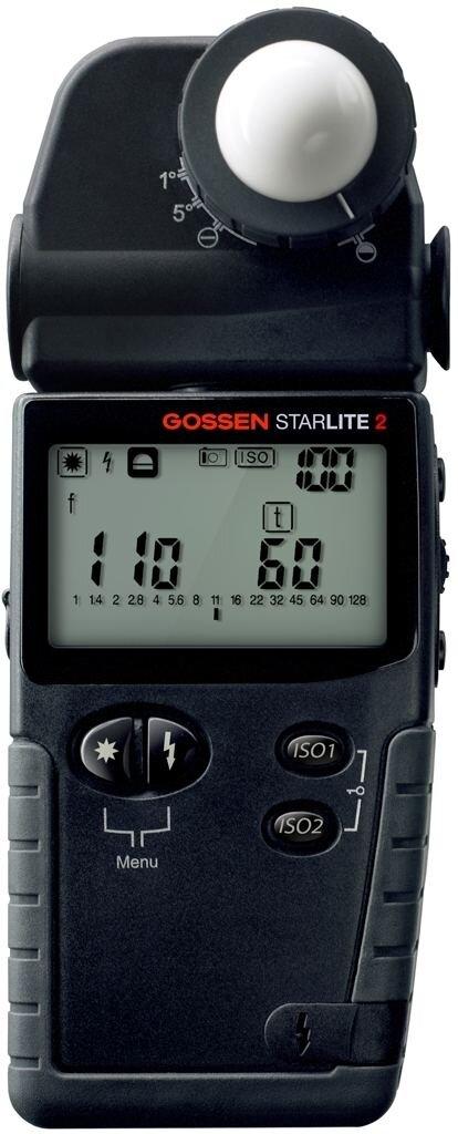Gossen Starlite 2 Belichtungsmesser für Blitz und Dauerlicht