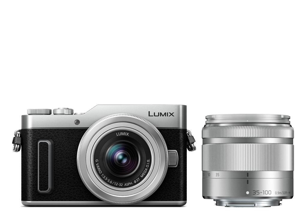 Panasonic LUMIX DC-GX880 Silber + 12-32mm 1:3,5-5,6 G VARIO MEGA O.I.S. (H-FS12032E-K) + 35-100mm 1:4,0-5,6 G VARIO MEGA O.I.S (H-FS35100E-K)