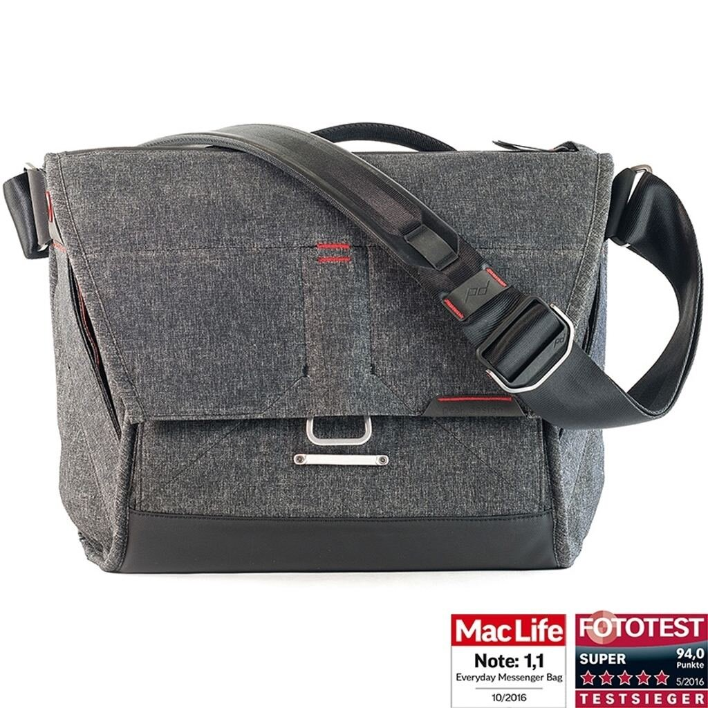 Peak Design Everyday Messenger Bag 13 V2 Charcoal dunkelgrau