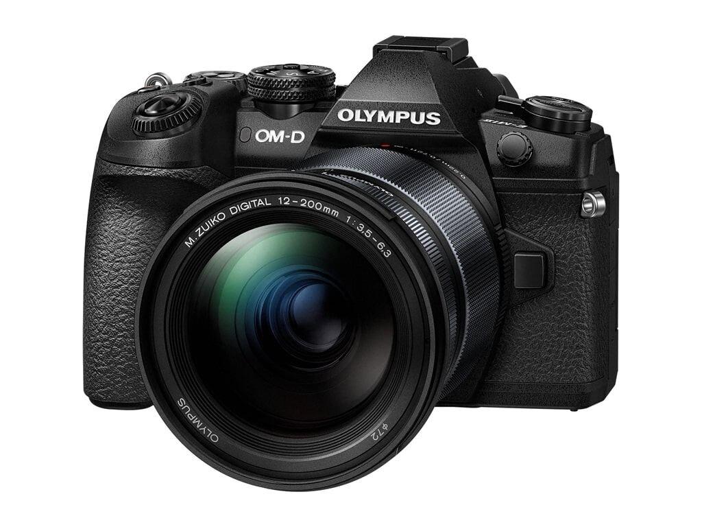 Olympus OM-D E-M1 Mark II inkl. 12-200mm 1:3,5-6,3 schwarz