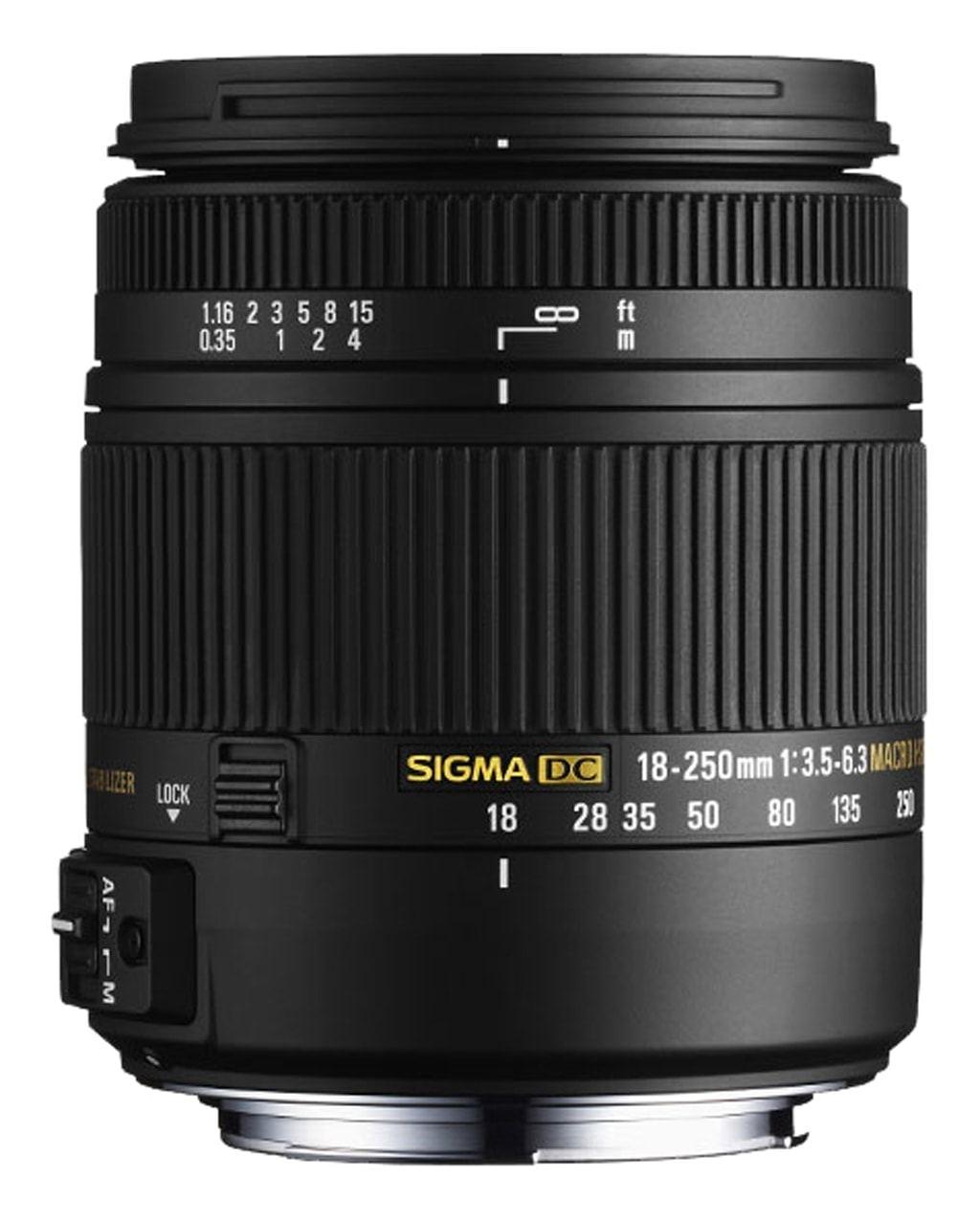Sigma 18-250mm 1:3,5-6,3 DC Makro OS HSM für Canon